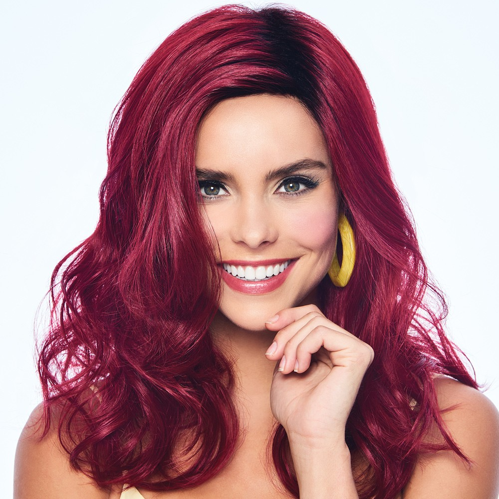 peruca poise and berry wig